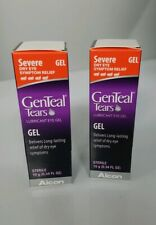 New GenTeal Tears Lubricant Eye Gel, Severe, 10g (0.34 fl oz) exp 8/21