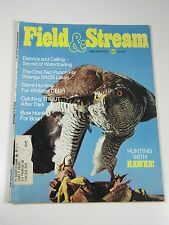 Field & Stream Magazine- January 1975- Hunting with Hawks, Decoys and Calling