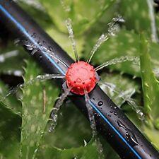 50Pcs Adjustable Micro Drip Irrigation Watering Anti-clogging Emitter Drippers