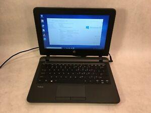 "HP ProBook 11 G1 11.6"" Laptop Intel 1.5GHz 4GB RAM 250GB HDD Windows 10"