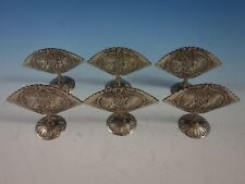 J. Kurz and Co. German .800 Silver Menu Holders Figural Repoussed Cupids (#2901)