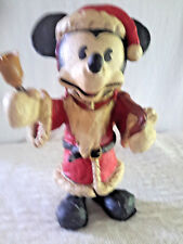 Vintage Holiday Sculpture of Santa Mickey Mouse Iob 00003Ffd