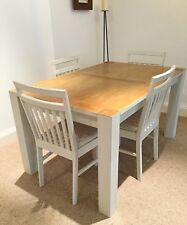 Upcycled Shabby Chic Distressed Dining Table And 4 Chairs