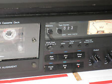 Nakamichi one & only 681ZX 3 head auto azimuth cassette deck with Analog Meter