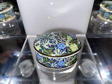 Museum Collections Ltd William Morris J H Dearle Seawood Bone China Trinket Box