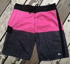 QUIKSILVER SURF • Men's Surfing Board Shorts Swimming Trunks size 32 x 20
