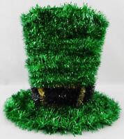 Ashland Shamrock Leprechaun Tinsel Hat Tabletop Decor New St. Patrick's Day