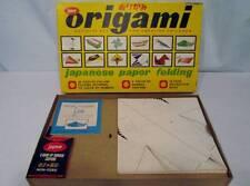 Vintage 50s JAYMAR Board Games Origami Japanese Paper Folding VERY RARE #942
