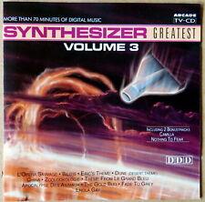 Synthesizer greatest volume 3 - Ed Starink - CD
