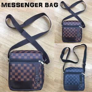 Men Travel Messenger Bag Shoulder Bag Crossbody Handbag Small Bag unisex