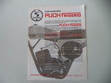 advertising Pubblicità 1976 MOTO PUCH FRIGERIO