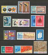 Un-New York #181-202, 1968-1969 Annual Sets, Unused Nh