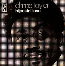 JOHNNIE TAYLOR hijackin' love / love in the streets 45RPM Stax Italy Soul Funk