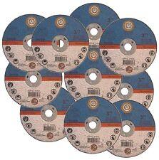 25x Druckluft Trennschleifer Scheiben Edelstahl 75mm Inox Metalltrennscheiben