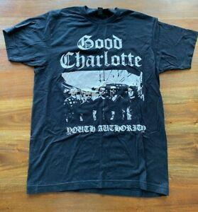 GOOD CHARLOTTE BAND MERCH TEE/T-SHIRT Mens Medium M Punk Vintage