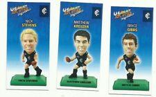 CARLTON BLUES 2009 Select AFL COLOUR Figurine picture card Team Set 3 CARDS