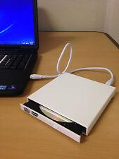 New USB 2.0 External DVD Combo CD-RW Burner Drive CD±RW DVD ROM White for PC MAC
