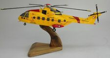 EH-101 Merlin Canada AF Westland EH101 Helicopter Wood Model Replica Large New