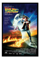 Back to the Future Poster Black Framed Ready To Hang Frame Free P&P