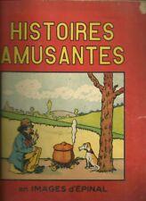 HISTOIRES AMUSANTES EN IMAGES D'EPINAL - HUMOUR - IMAGERIE PELLERIN