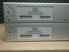 Cisco Meraki MS220-48LP Cloud Managed PoE Switch Unclaimed HW 1-Year Warranty