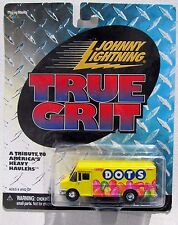 JOHNNY LIGHTNING R3 TRUE GRIT DOTS CANDY DELIVERY VAN rr