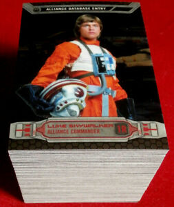 STAR WARS CHROME PERSPECTIVES - COMPLETE BASE SET - Topps 2014