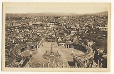 Vintage Postcard - Roma - Panorama from the Dome of St Peter's - Unposted 2628