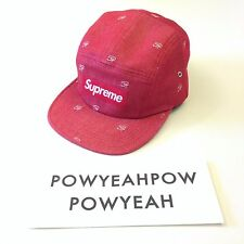 SUPREME DENIM EYE CAMP CAP
