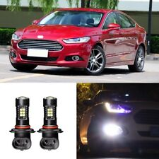 2x Canbus H11 3030 21SMD LED DRL Daytime Running Fog Light Bulbs For Ford Fusion