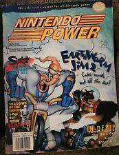 Vintage Nintendo Power Magazine Vole. 83 April 1993 Earth Worm Jim 2