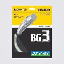 Yonex Bg 3 10 Metros Cuerda para Raqueta de Badminton Carrete Nuevo Wow