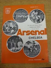 20/03/1973 Arsenal v Chelsea [FA Cup Replay] . Thanks for viewing our item, when