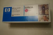 GENUINE HP Q3963A 122A MAGENTA TONER CARTRIDGE LASERJET 2550 2820 2840 BRAND NEW