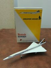 1990s SCHABAK 920/51 CONCORDE BRITISH AIRWAYS & SINGAPORE AIRLINES
