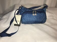 Baggallini DAILY BAGG BLUE FLORAL **NWT**