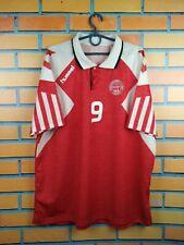 Denmark soccer jersey XL 1992 1993 home shirt football Hummel