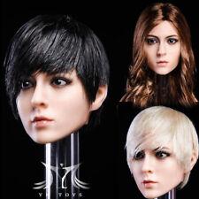 "En Stock 1/6 YMT016 ymtoys ""Ming"" hembra cabeza H #Suntan para Hot Toys Phicen Cuerpo"