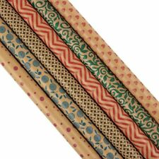 "6-PacK 30"" x 120"" Gift Wrapping Paper Rolls Kraft Paper for Birthday Christmas"