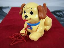 Fisher Price Brilliant Basics Lil Snoopy Pull Along Dog Toy