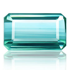 5.04ct 100% Natural earth mined aaa sea bluish green color tourmaline mozambique