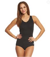 Speedo Women's Pebble Texture One Piece Swimsuit 10303 Size 8