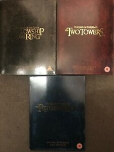 Lord Of The Rings Extended DVD Boxsets Choose From List