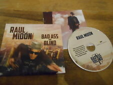 CD Rock Raul Midon - Bad Ass And Blind (11 Song) Promo MACK AVENUE ARTISTRY digi