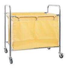 Hamper Cart Washing Clothes 250 L Bag Trolley Laundry Sorter Basket