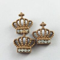 20pcs/Lots Fashion New Electroplated Alloy Crown Charms Necklace Pendant Crafts