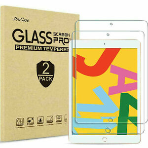 2pack Tempered Glass Screen Protector for Apple iPad 10.2 2021 9th Generation