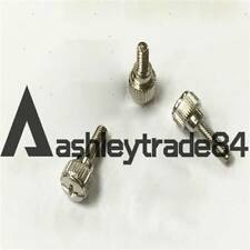 20-100pcs M4 x 8mm Phillips Pan Head Toolless Thumb Screws Nickel Plated