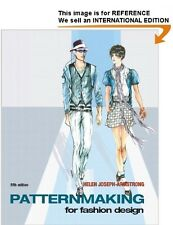 Patternmaking for Fashion Design-Joseph Armstrong(Int Ed Paperback)5e/WITHOUT CD