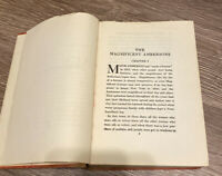 The Magnificent Ambersons by Booth Tarkington - 1918 HC Antique Book